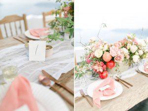 Hochzeit Santorin Irina Rott Hochzeitsfotograf Dekoration
