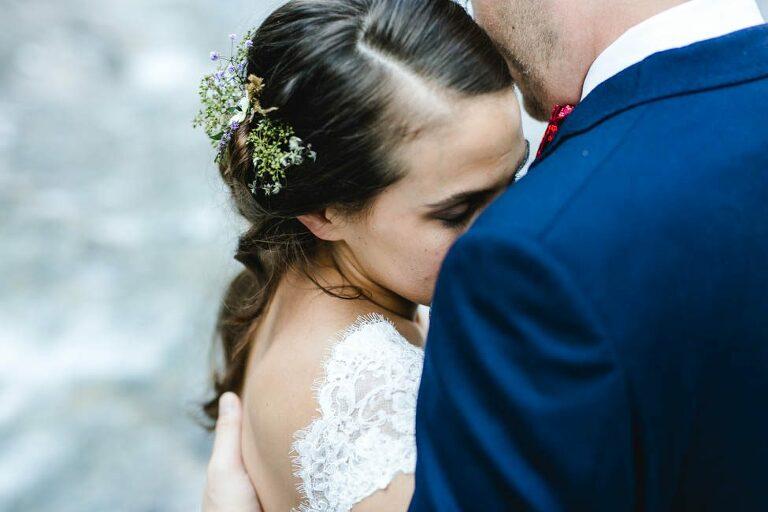 Hochzeit berge Österreich Hochzeitspaar