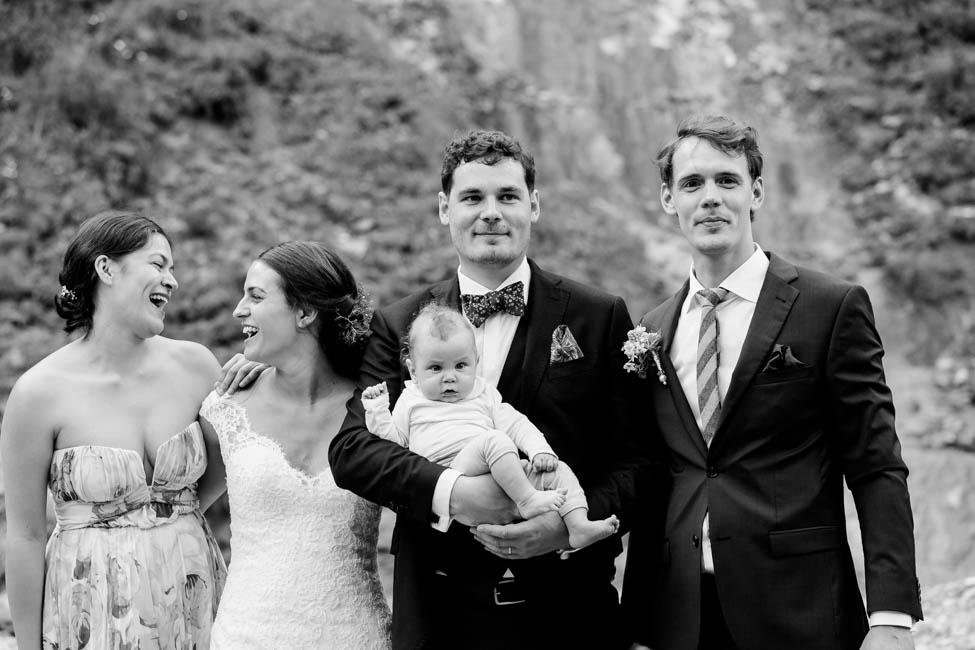 Gruppenfotos Hochzeit Maria Alm
