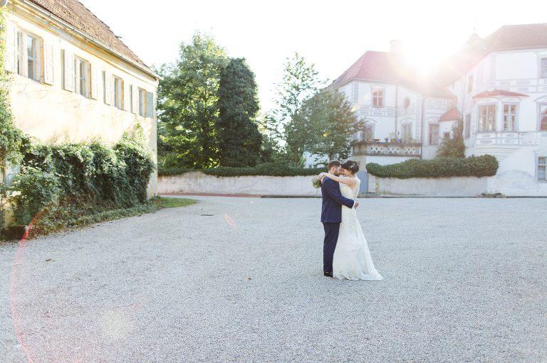 heiraten im Schloss Neufraunhofer Hochzeit